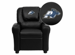 Akron Zips Embroidered Black Vinyl Kids Recliner - DG-ULT-KID-BK-45020-EMB-GG
