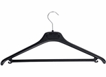ALBA Set of 20 Plastic Coat Hangers