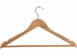 ALBA Set of 25 Wooden Coat Hangers
