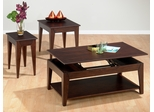 Albion Oak 3PC Accent Table Set - 401-1