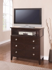 Albright Media Chest Cherry - 202656
