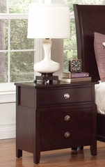 Albright Nightstand in Cherry - 202652
