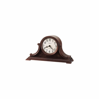 Albright Windsor Cherry Mantel Clock - Howard Miller