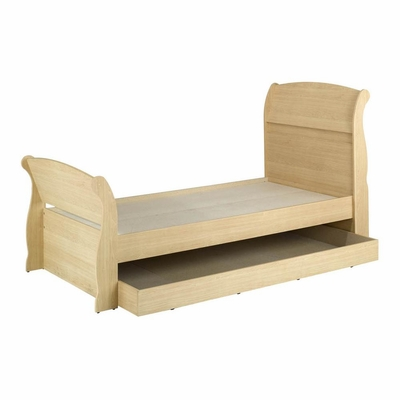 Alegria Twin Size Sleigh Bed with Trundle - Nexera Furniture