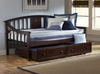Alexander Daybed in Deep Brown - Hillsdale Furniture - 1552DB