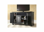 "Alexandria 48"" AroundSound TV Stand in Black - CROSLEY-KF1002AASBK"