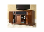 "Alexandria 48"" AroundSound TV Stand in Classic Cherry - CROSLEY-KF1002AASCH"