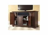 "Alexandria 48"" AroundSound TV Stand in Vintage Mahogany - CROSLEY-KF1002AASMA"