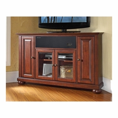 "Alexandria 48"" Corner AroundSound TV Stand in Vintage Mahogany - CROSLEY-KF1006AASMA"