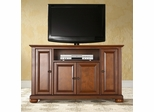 "Alexandria 48"" TV Stand in Classic Cherry Finish - Crosley Furniture - KF10002ACH"