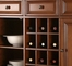 Alexandria Buffet Server / Sideboard Cabinet with Wine Storage in Classic Cherry Finish - Crosley Furniture - KF42001ACH