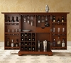 Alexandria Expandable Bar Cabinet in Classic Cherry Finish - Crosley Furniture - KF40001ACH