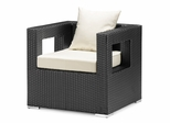 Algarva Outdoor Armchair in Chocolate - Zuo Modern - 701154