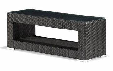 Algarva Outdoor Coffee Table in Chocolate - Zuo Modern - 701152