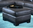 All Leather Ottoman in Brown - 8-Way-Hand-Tied - 9958BR-4