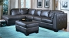 All Leather Sectional in Brown - 8-Way-Hand-Tied - 9958BR