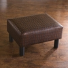 SEI Alligator Print Foot Stool