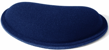 Allsop Blue Memory Foam Mouse Pad with Wrist Rest