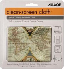 Allsop CleanScreen Cloth - Double Globe Optical-Grade Microfiber