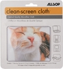 Allsop CleanScreen Cloth - Pet Me Cat Optical-Grade Microfiber