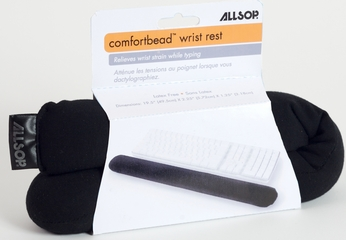 Allsop ComfortBead Wrist Rest For Keyboards