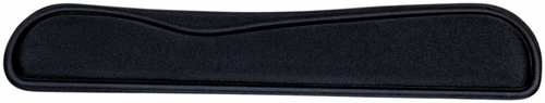 Allsop Ergoprene Gel Wrist Rest Black