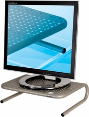 Allsop Metal Art Jr. Pearl Black Monitor Stand