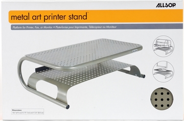 Allsop Metal Art Pewter Printer Stand