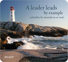 Allsop Naturesmart Motivational / Leadership Mouse Pad