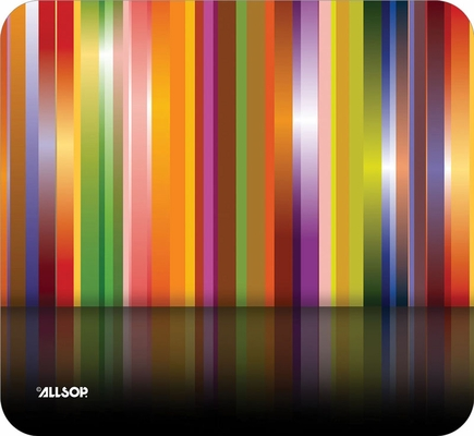 Allsop Naturesmart Multi-Stripes Mouse Pad Tech