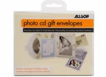 Allsop Photo CD Gift Envelope 3-Pack Ivory