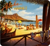 Allsop Vintage Hawaii Mouse Pad