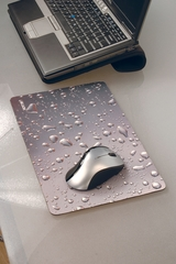 Allsop WideScreen Metallic Raindrop Mouse Pad