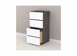 "Allure 3 Drawer 36"" Storage Cabinet - Nexera Furniture"