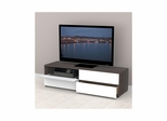 Allure 60'' TV Stand - 2 Flip Doors, 2 Drawers - Nexera Furniture