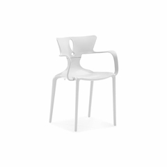 Alter Dining Chair in White - Set of 4 - Zuo
