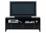"Alto Black Cherry Contemporary 60"" TV Unit - 041-9"