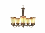 Alvarez Tiffany Chandelier - Dale Tiffany