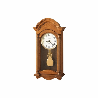 Amanda Traditional Chiming Wall Clock - Howard Miller