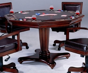 Ambassador Game Table - Hillsdale Furniture - 6124GTB