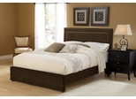 Amber King Size Fabric Bed - Hillsdale Furniture - 1554BKRA