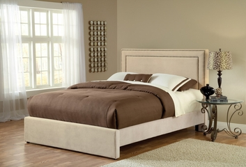 Amber King Size Fabric Bed - Hillsdale Furniture - 1566BKRA