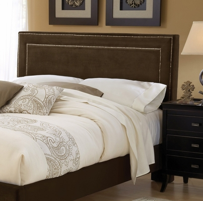 Amber King Size Fabric Headboard with Frame - Hillsdale Furniture - 1554HKRA
