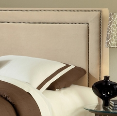 Amber King Size Fabric Headboard with Frame - Hillsdale Furniture - 1566HKRA