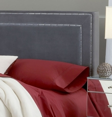 Amber King Size Fabric Headboard with Frame - Hillsdale Furniture - 1638HKRA