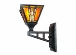 Amber Monarch Wall Sconce - Dale Tiffany
