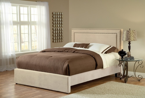 Amber Queen Size Fabric Bed - Hillsdale Furniture - 1566BQRA