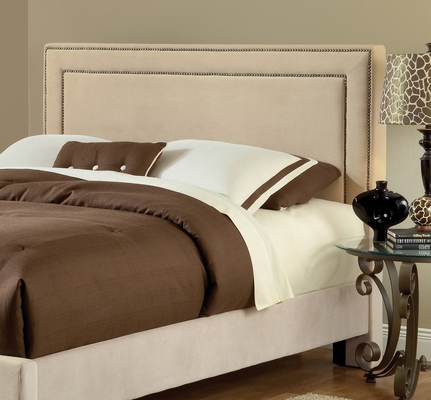 Amber Queen Size Fabric Headboard with Frame - Hillsdale Furniture - 1566HQRA