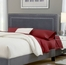 Amber Queen Size Fabric Headboard with Frame - Hillsdale Furniture - 1638HQRA