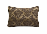 Ambreen Damask Jacquard Pillow - IMAX - 42120
